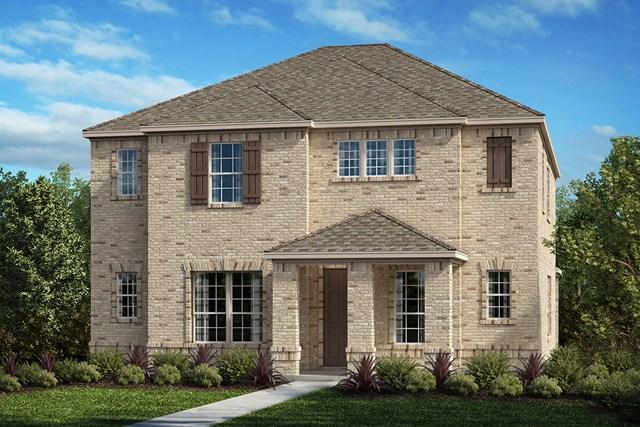 New Homes in Frisco, TX - Plan 2820 Elevation D