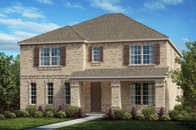 New Homes in Frisco, TX - Plan 3149 Elevation D