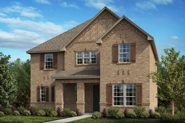 New Homes in Frisco, TX - Plan 3301 Elevation A