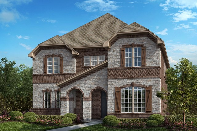 New Homes in Frisco, TX - Plan 3301 Elevation B