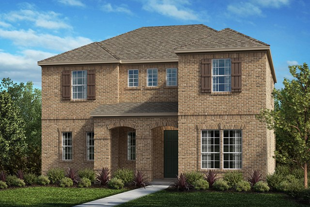 New Homes in Frisco, TX - Plan 3301 Elevation D