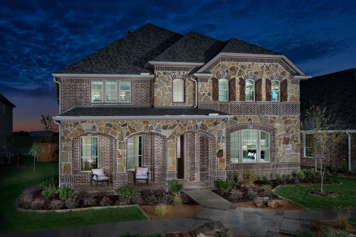 New Homes in Frisco, TX - Retreat at Stonebriar Plan 3149