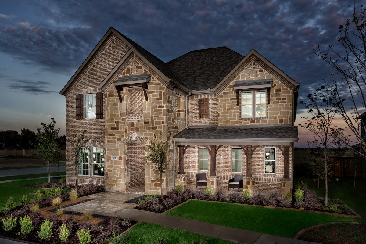 New Homes in Frisco, TX - Retreat at Stonebriar Plan 3301