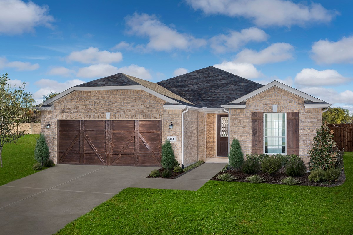 New Homes in Allen, TX - St. Andrews Park Plan 1813