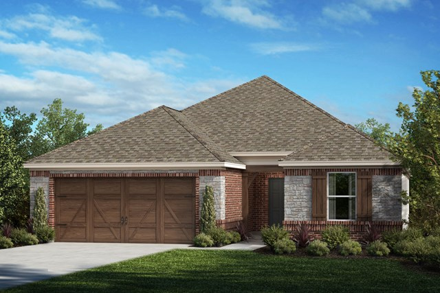 New Homes in Celina, TX - Plan 1813 Elevation D