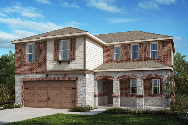 New Homes in Celina, TX - Plan 2547 Elevation E