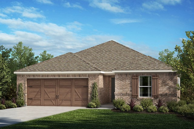New Homes in Allen, TX - Plan 1709 Elevation A