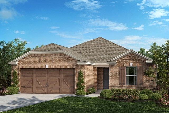 New Homes in Allen, TX - Plan 1813 Elevation B