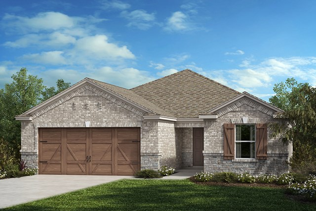 New Homes in Allen, TX - Plan 1813 Elevation C