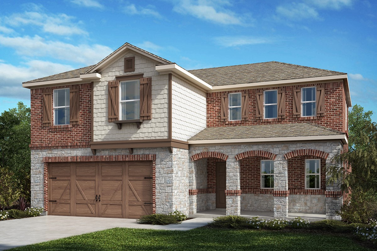 New Homes in Allen, TX - St. Andrews Park Plan 2547 Elevation C