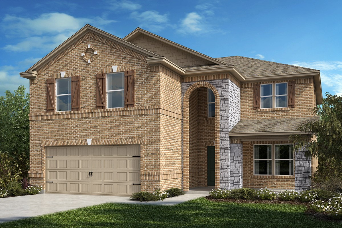 New Homes in Allen, TX - St. Andrews Park Plan 2535 Elevation C