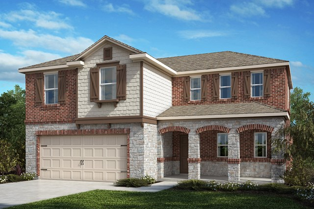 New Homes in Fort Worth, TX - Plan 2547 Elevation C