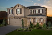 New Homes in Fort Worth, TX - Plan 2547 Modeled