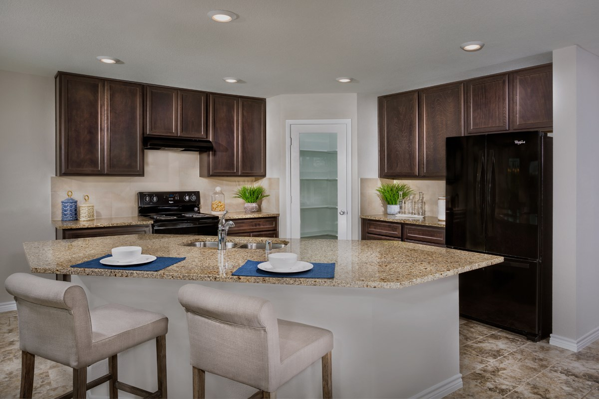 New Homes in Fort Worth, TX - Watersbend Plan 2547 Kitchen