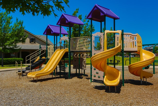 Park and Playground at a KB Home community in Fort Worth, TX