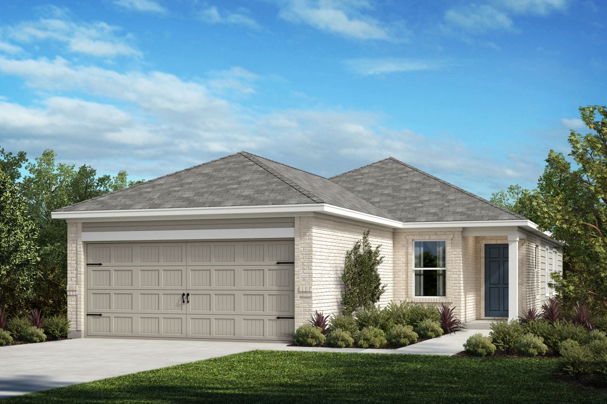 New Homes in Crandall, TX - Wildcat Ranch Plan 1378 Elevation B