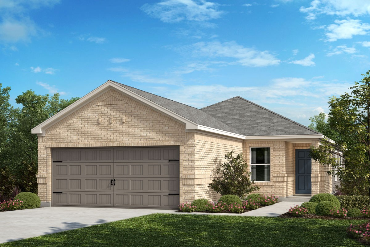 New Homes in Crandall, TX - Wildcat Ranch Plan 1378 Elevation C