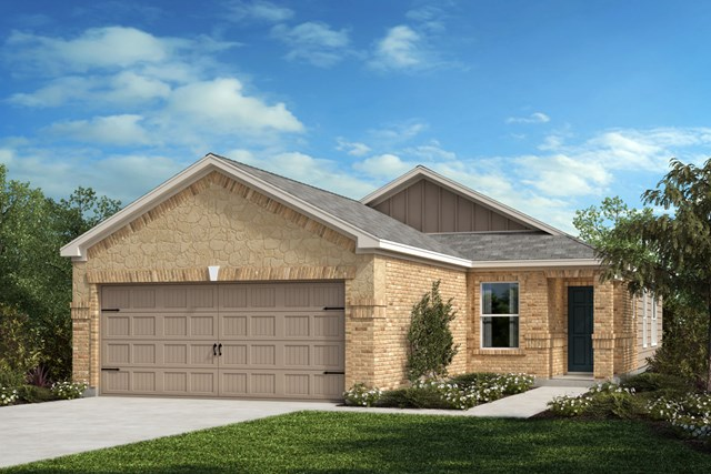 New Homes in Crandall, TX - Plan 1378 Elevation D