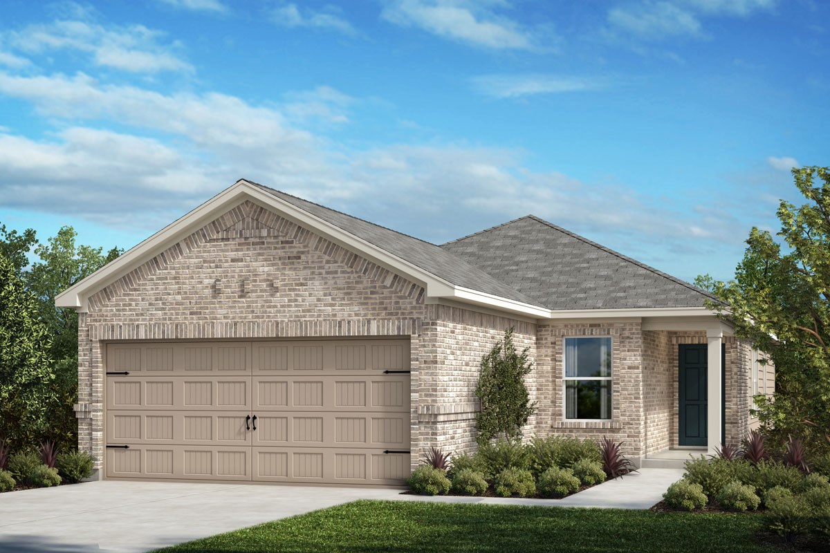 New Homes in Crandall, TX - Wildcat Ranch Plan 1417 Elevation D