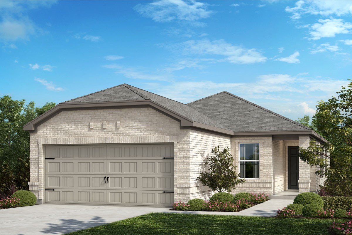 New Homes in Crandall, TX - Wildcat Ranch Plan 1417 Elevation C