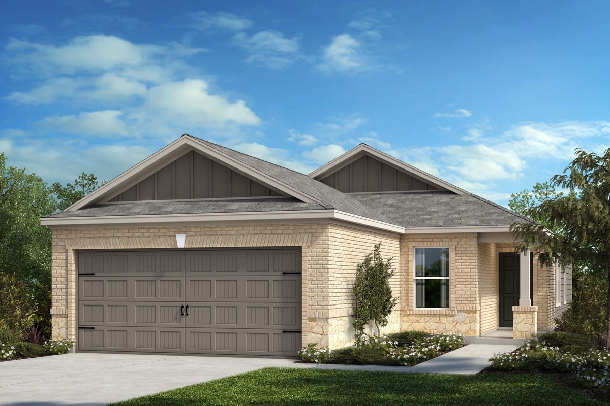 New Homes in Crandall, TX - Wildcat Ranch Plan 1417 Elevation B
