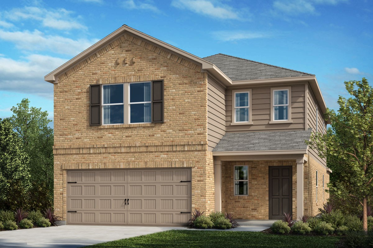 New Homes in Crandall, TX - Wildcat Ranch Plan 2559 Elevation B