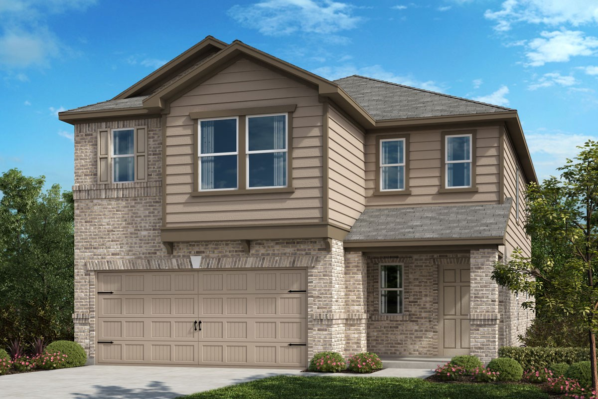 New Homes in Crandall, TX - Wildcat Ranch Plan 2559 Elevation C