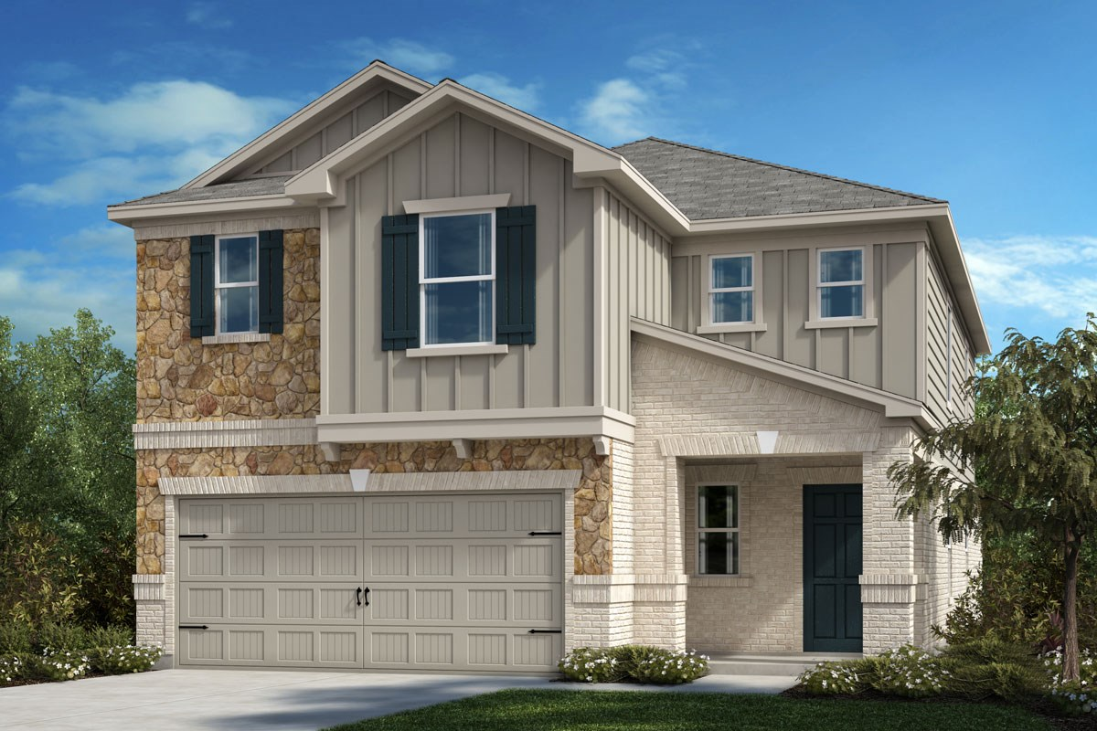 New Homes in Crandall, TX - Wildcat Ranch Plan 2559 Elevation D