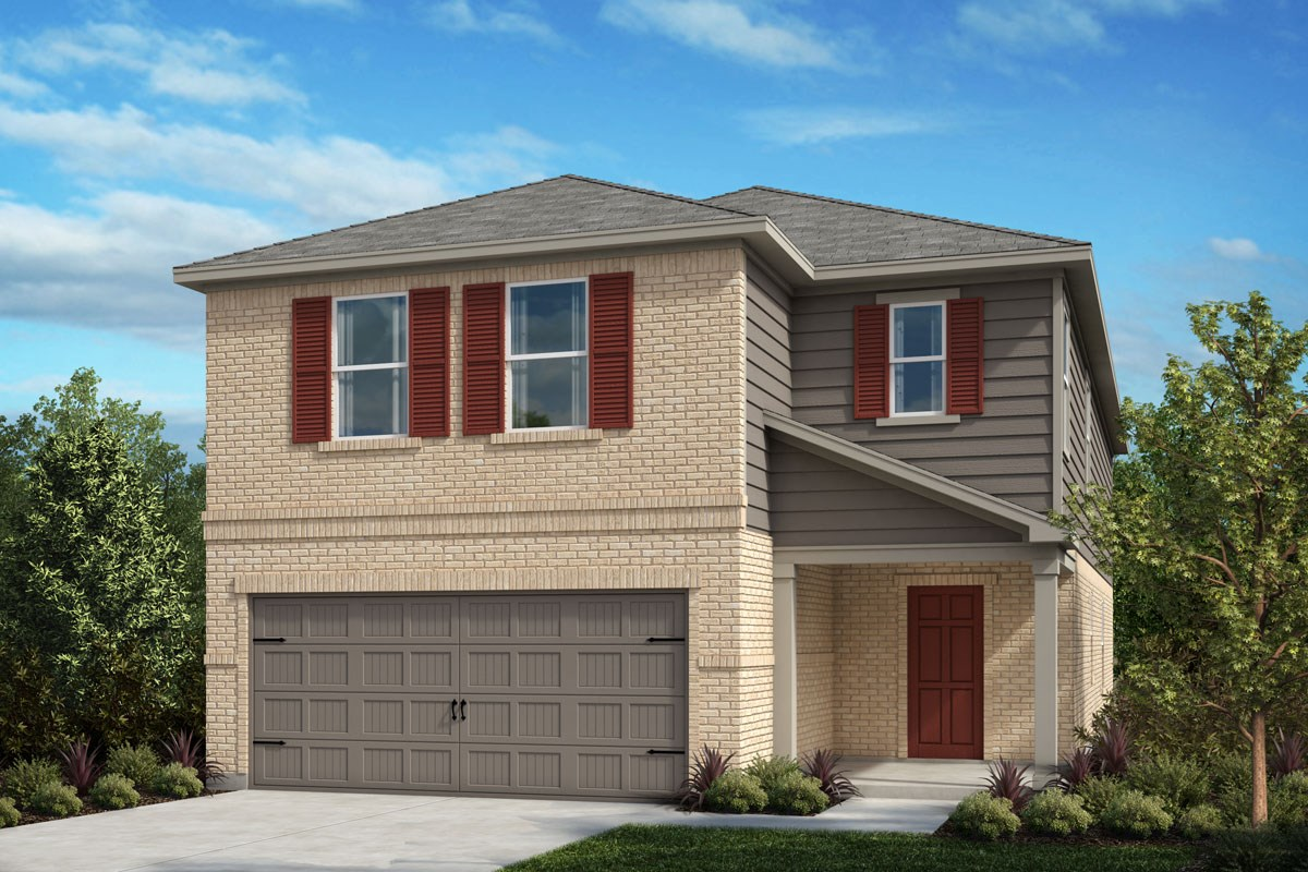 New Homes in Crandall, TX - Wildcat Ranch Plan 2813 Elevation B