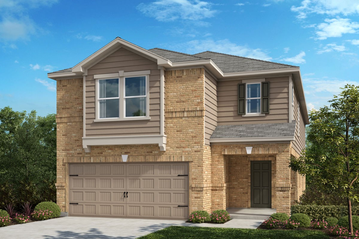 New Homes in Crandall, TX - Wildcat Ranch Plan 2813 Elevation C