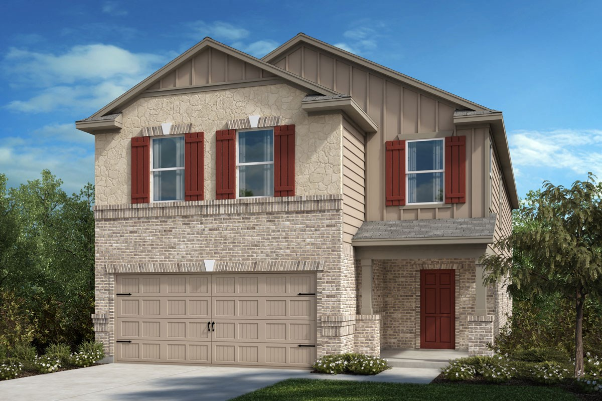 New Homes in Crandall, TX - Wildcat Ranch Plan 2813 Elevation D