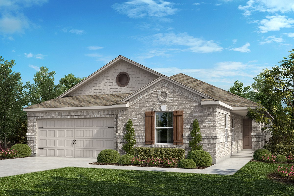 New Homes in Fort Worth, TX - Copper Creek Plan 2085 Elevation B