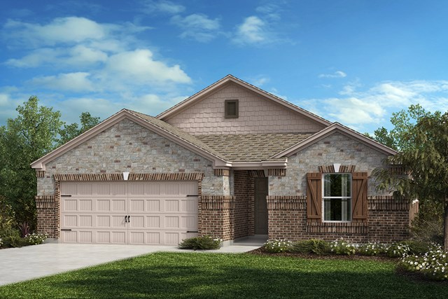 New Homes in Aubrey, TX - Plan 2141 Elevation C