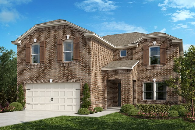 New Homes in Aubrey, TX - Plan 2535 Elevation B