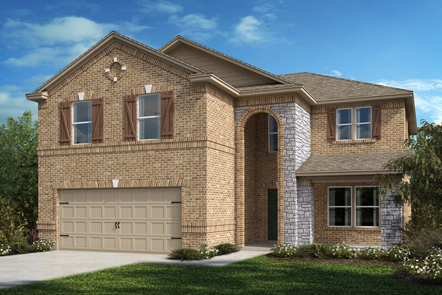 New Homes in Aubrey, TX - Plan 2535 Elevation C