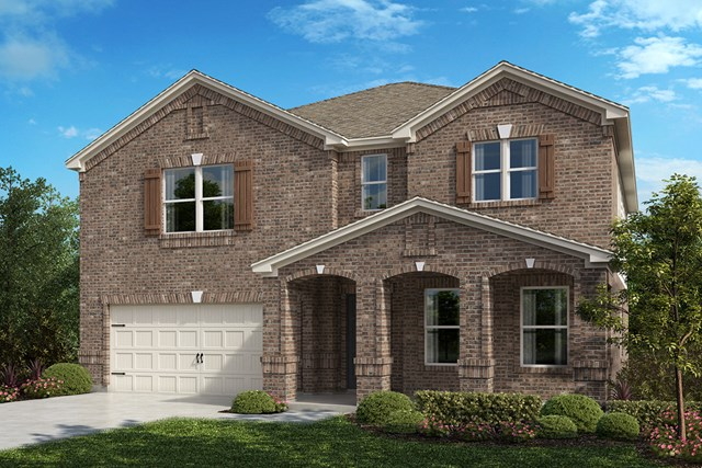 New Homes in Fort Worth, TX - Plan 2803 Elevation B