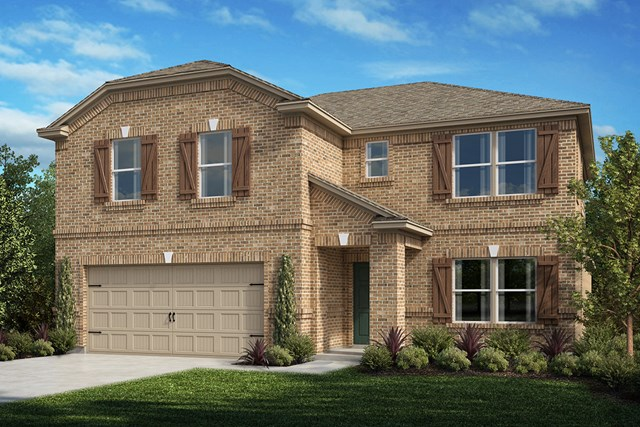 New Homes in Aubrey, TX - Plan 2981 Elevation A