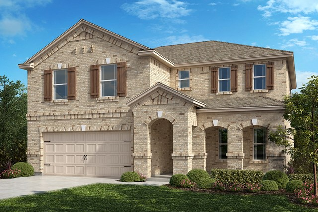 New Homes in Aubrey, TX - Plan 2981 Elevation B