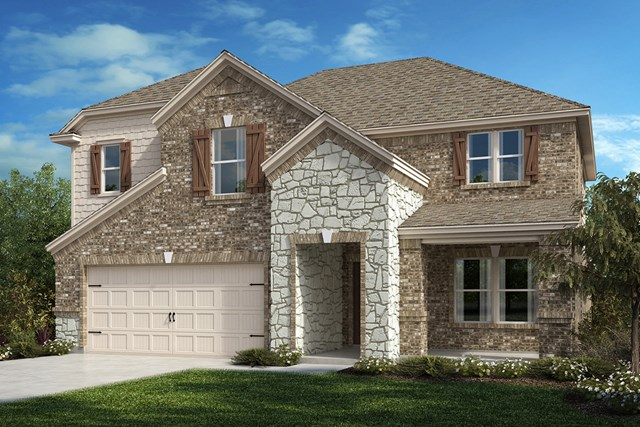 New Homes in Aubrey, TX - Plan 2981 Elevation C