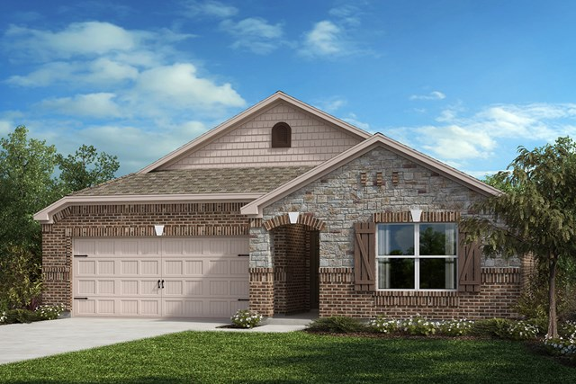 New Homes in Aubrey, TX - Elevation C
