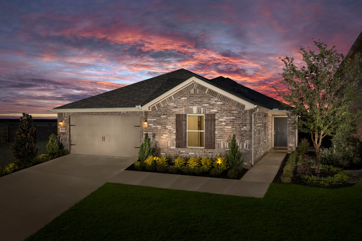 New Homes in Aubrey, TX - Winn Ridge Plan 2085