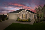 New Homes in Aubrey, TX - Plan 2085 Modeled