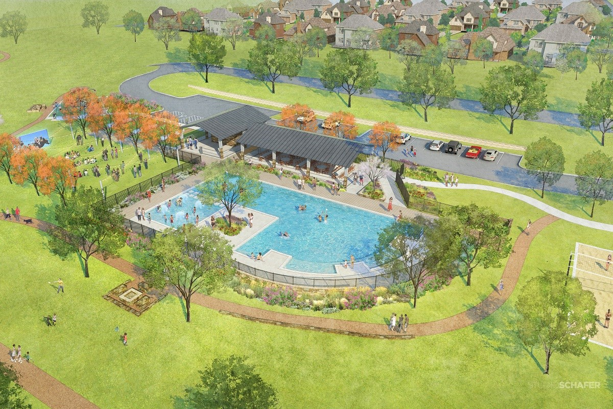 New Homes in Aubrey, TX - Winn Ridge Proposed Community Amenities