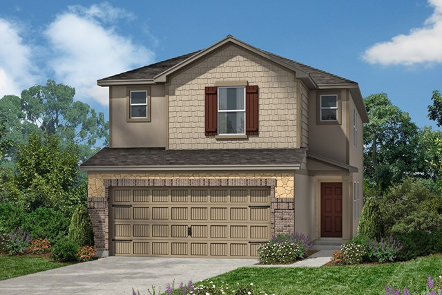 New Homes in Houston, TX - Elevation E