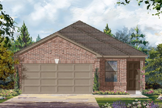 New Homes in Cypress, TX - Elevation C