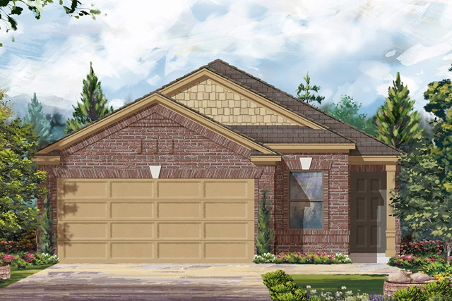 New Homes in Cypress, TX - Elevation D