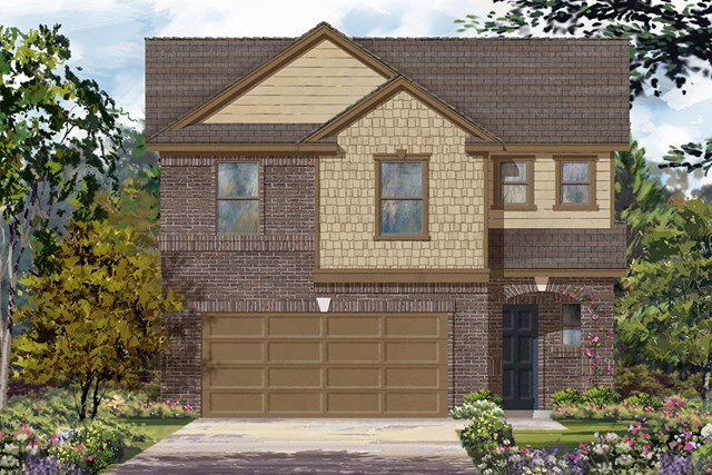 New Homes in Houston, TX - Plan 1864 Elevation C