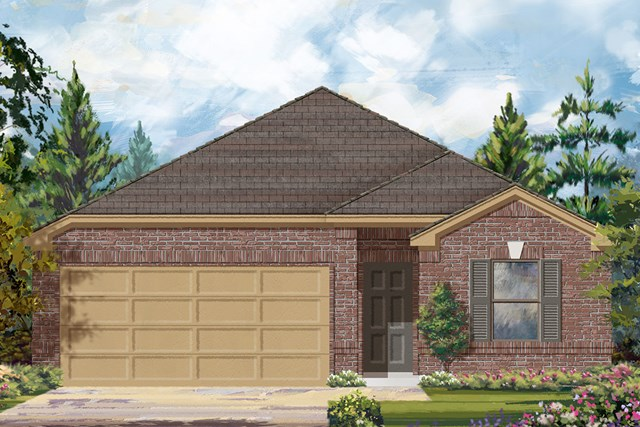 New Homes in Conroe, TX - Elevation C