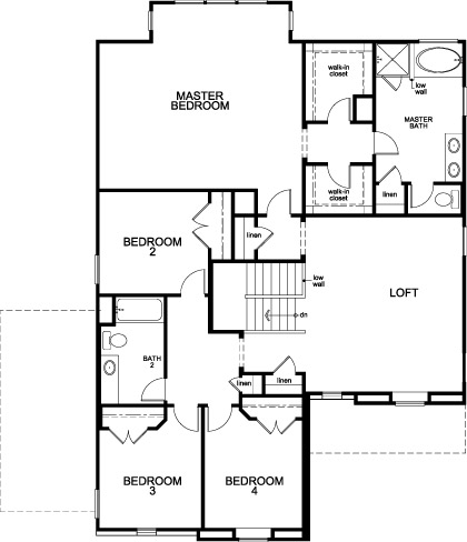 Plan 2936 new home floor plan in cimarron creek estates for Spec home plans