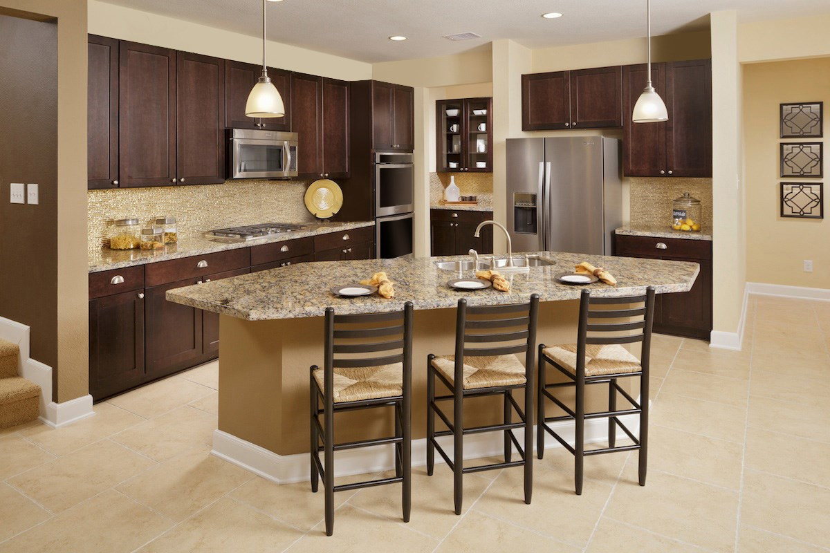 New Homes in Kingwood, TX - Rivergrove Plan 2936 Kitchen